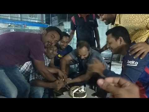 Foysal ar Birthday celebrating video 08-04-2018 at ADDA BAZZ