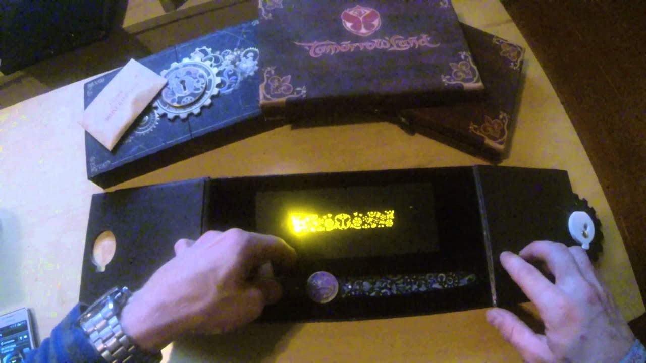 Tomorrowland Tickets Tomorrowland 2014 Bracelet Ticket Key Youtube