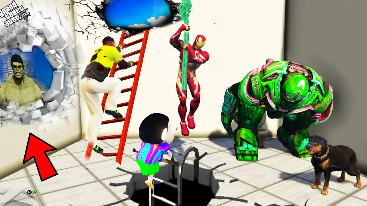 Download GTA 5 : Shinchan , Pinchan And Franklin Best Plan To Escape Prison in GTA 5 ! (GTA 5 mods)