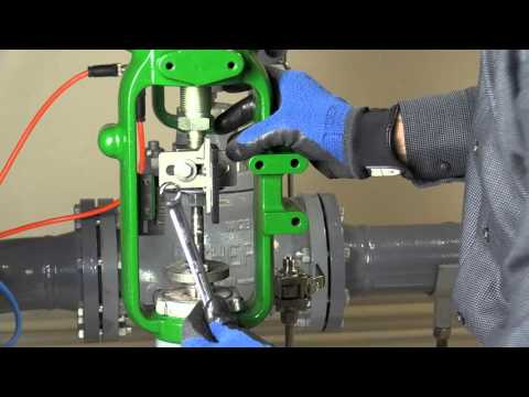 Mounting A Fisher FIELDVUE DVC6200 Digital Valve Controller On A 657 Or A 667 Size 40i Actuator