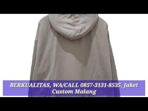 Berkualitas Wa 0857 3131 8535 Jaket Custom Malang Youtube
