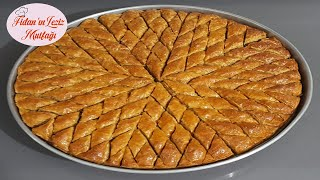 CRUNCHY AND DELICIOUS WALNUT HOMEMADE BAKLAVA