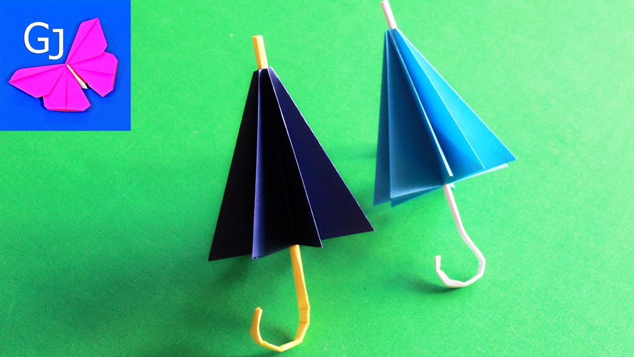 How To Make Origami Umbrella