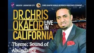 Join DR. Chris Okafor, this Weekend in Los Angels, California