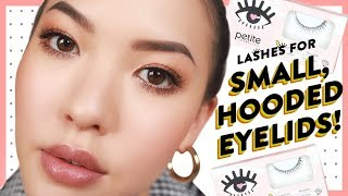 Lashes for Small, Hooded Eyelids! | GBT | soothingsista