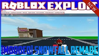 ✅NUEVO ROBLOX EXPLOIT: SNOWFALL REMADE (Working) [PARTICLES, CUSTOM MODDED MENU + MORE!] (21-12) 2017✅