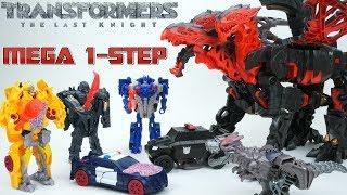 Transformers the Last Knight Mega 1 Step Changer Dragonstorm Reveals Hidden Images One Step