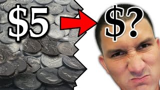 Going from $5 in quarters to $? really fast - Coin Pusher