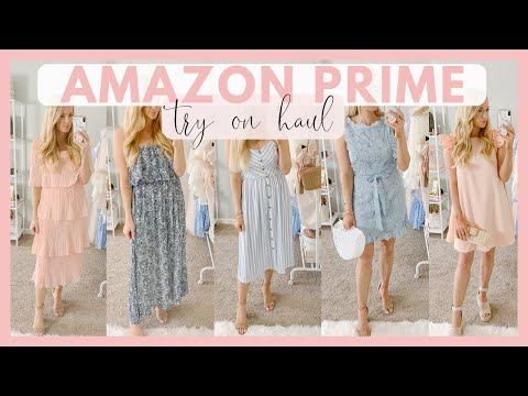 HUGE AMAZON PRIME SUMMER CLOTHING HAUL 2019 |   AFFORDABLE SUMMER CLOTHING TRY ON HAUL Amanda John