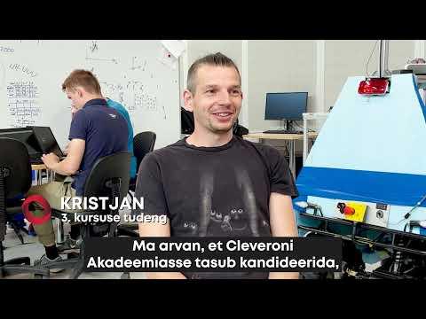 Miks peaks kandideerima Cleveroni Akadeemiasse?