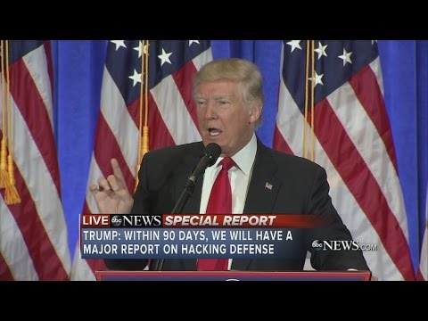 FULL VIDEO: Donald Trump holds first press conference since election