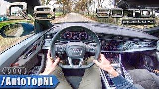 AUDI Q8 S Line 50 TDI POV Test Drive by AutoTopNL