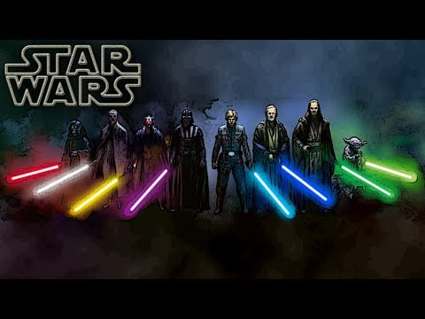 Lightsaber Colors and Meanings (Canon) - Star Wars Explained