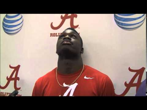 Alabama safety Ronnie Harrison has hard time listing weaknesses