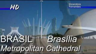 BRAZIL Brasilia Monuments The Cathedral