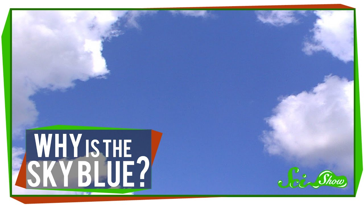 world s most asked questions why is the sky blue youtube
