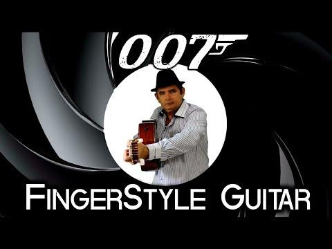 James Bond 007 Theme Fingerstyle Guitar Cover  007 Violão Solo Instrumental - Júlio Hatchwell