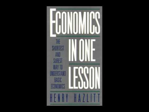 Henry Hazlitt: Economics in One Lesson Audio Book