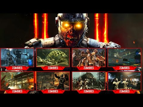 "Thumbnail: ""ZOMBIE CHRONICLES"" DLC 5 ALL 8 MAPS LEAKED! (Black Ops 3 Zombies)"