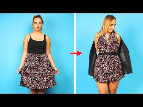 Fashion Hacks are in My Blood. 23 DIY Clothes Ideas by Crafty Panda. http://bit.ly/2Xc4EMY
