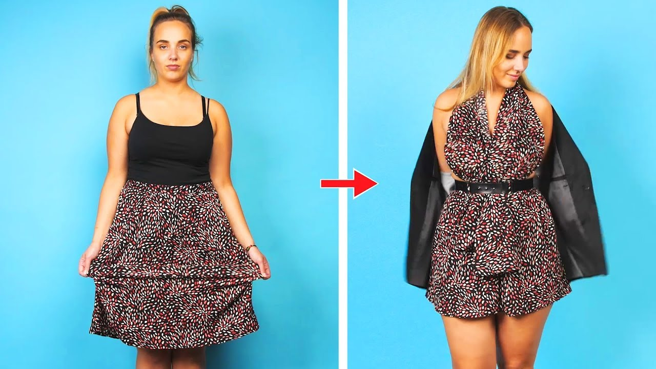 Fashion Hacks are in My Blood. 23 DIY Clothes Ideas by Crafty Panda
