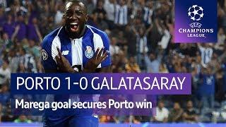 Porto vs Galatasaray (1-0) UEFA Champions League Highlights