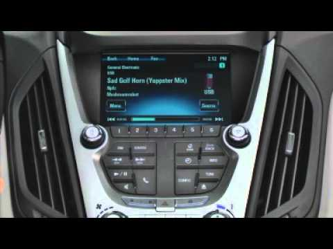 Playing Music Using the USB on a Chevrolet MyLink Radio