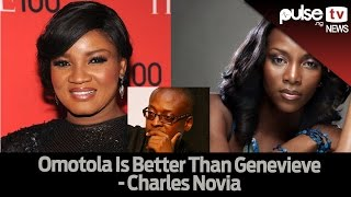 """Omotola Jalade Ekheinde Is Better Than Genevieve"" Charles Novia  Pulse TV News"