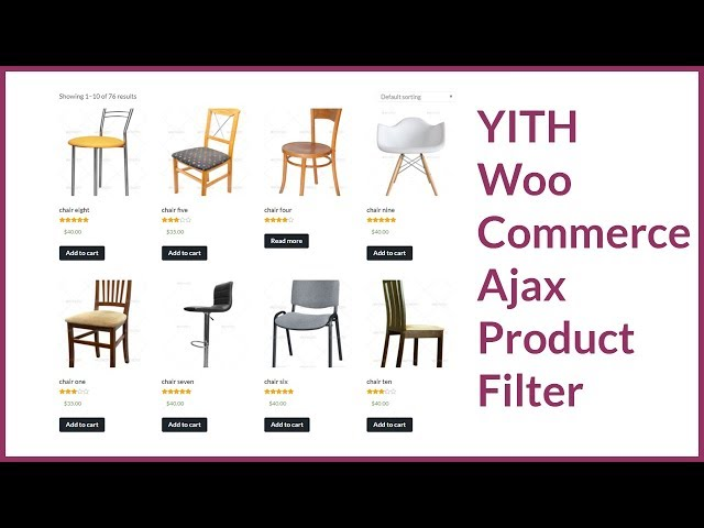 YITH WooCommerce Ajax Product Filter - WooCommerce  Product Filter Plugin Tutorial