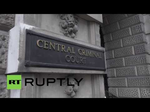 UK: Media await suspected murderer Thomas Mair outside Old Bailey, London