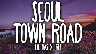 Download Mp3 Lil Nas X, Rm - Seoul Town Road  Lyrics  Feat. Rm Of Bts