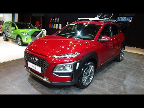 2018 Hyundai Kona Launch Edition 1.0 T GDi Exterior and Interior Auto Show Brussels 2018