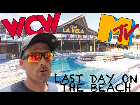 Club La Vela Is Now Closed And It's Our Last Day On The Beach In Panama City Beach, Florida