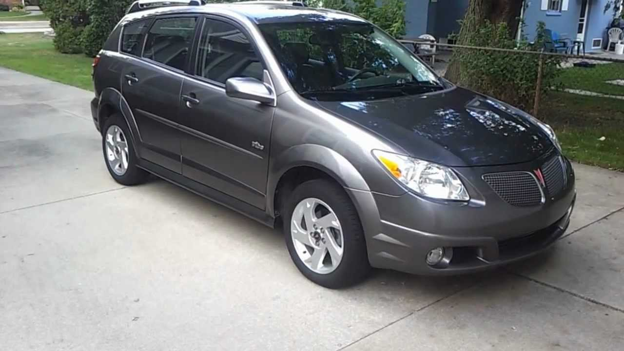 2012 09 09 video of 2006 pontiac vibe awd with stock alloy. Black Bedroom Furniture Sets. Home Design Ideas