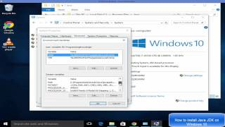 How To Download And Install Java on Window 10 ( Java JDK on Windows 10) + Set JAVA_HOME
