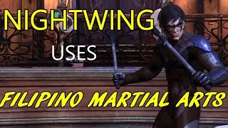 FILIPINO MARTIAL ARTS KALI | Nightwing's Martial Art
