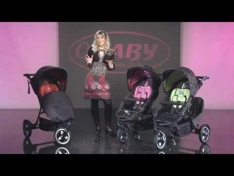 Obaby Xi Tandem Sport Pushchair video - YouTube cedc087703