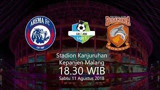 Jadwal Live Arema FC vs Borneo FC Pukul 18.30 WIB