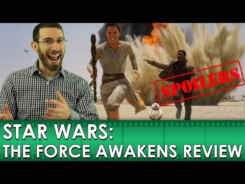 Star Wars: The Force Awakens Movie Review [SPOILERS] (Belated Media)