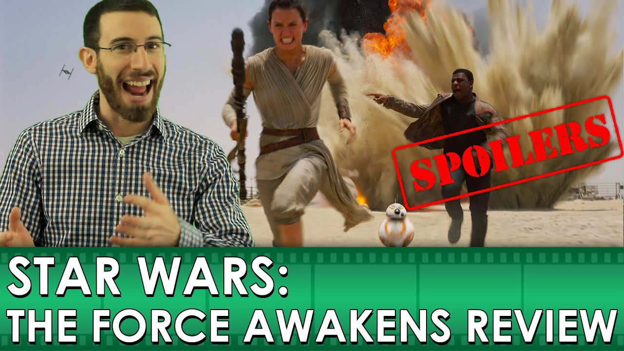 Download Star Wars: The Force Awakens [Movie Review - SPOILERS] (Belated Media)