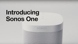 Sonos ONE with Alexa - Black - The Smart Speaker for Every Room of Your Home