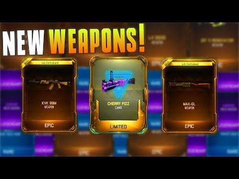 I GOT THE AN-94, CHINA LAKE, AND THE NEW CAMO! (BO3 Supply Drop Opening) Crazy New Gear! - MatMicMar