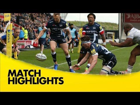 Sale Sharks v Bath Rugby - Aviva Premiership Rugby 2016-17