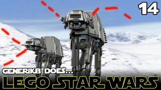 "LEGO STAR WARS The Complete Saga Ep 14 - ""Epic Hoth Battle!!!"""