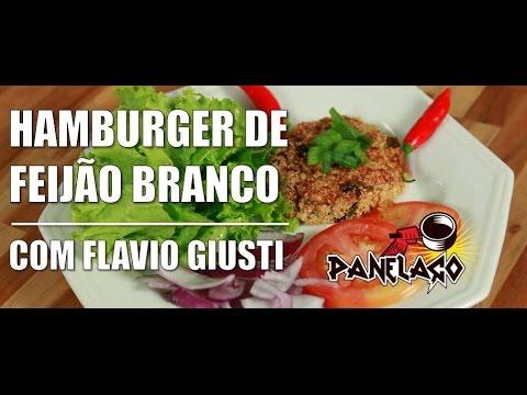 Panelaço Com João Gordo - Hamburger De Feijão Branco Com Flávio Do Vegetarirango