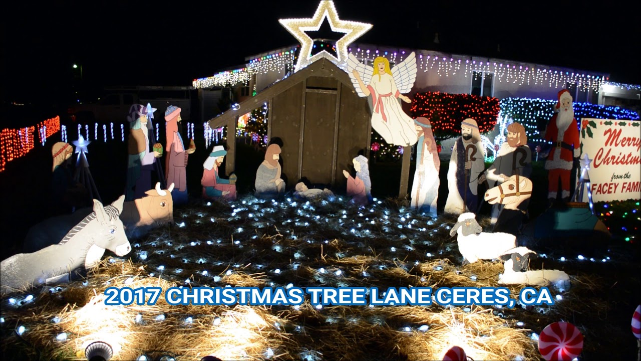 Christmas Tree Lane Ceres