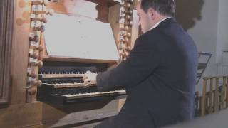 Luxembourg Organ Competition-Fugue in G minor BWV 542 J.S. Bach