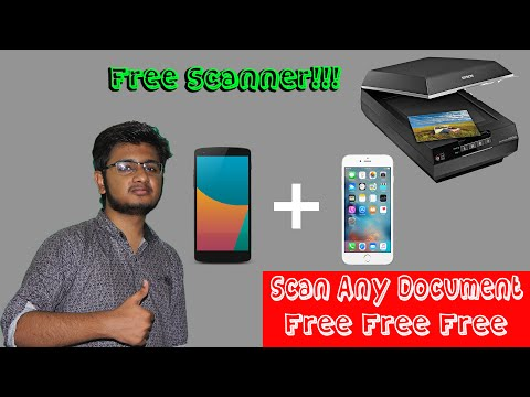 Free Document And Paper Scanner For Android And IOS