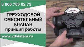 Трехходовой клапан принцип работы(, 2016-10-05T18:52:54.000Z)