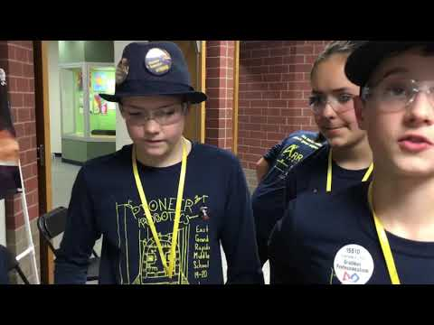 First Tech Challenge East Grand Rapids Middle School Michigan 2019 Nov 2
